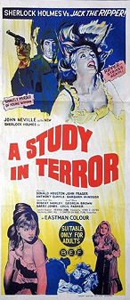 A Study in Terror - poster