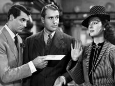 "Ralph  parodied himself in the brilliant comedy ""His Girl Friday"" (1940) - Click on the Poster for a soundbit ..."
