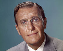 "Ralph Bellamy as FDR in ""Sunrise At Campobello"" (1960)"