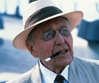 "Ralph Bellamy as FDR  in the TV  miniseries ""War and Remembrance"" (1988-89)."