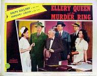 Ellery Queen and the Murder Ring - lobbykaart