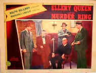 Ellery Queen and the Murder Ring - lobbykaart B