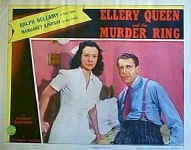 Ellery Queen and the Murder Ring - lobbycard F