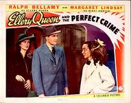Ellery Queen and the Perfect Crime - lobbycard