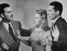 """Queen of the Burlesque"" (1946) Carleton G. Young met Evelyn Ankers."