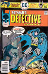 Detective Comics No. 459 - May 1976 On the cover one can clearly make out Alfred Pennyworth, the police, Batman unmasking, and Elliot Quinn's corpse. (Art: J.L.Garcia Lopez - Editing Julius Schwartz)