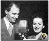 Richard Coogan and Mercedes McCambridge played Abie and Rosemary at one time during the three-year run from 1942-1944.