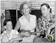 Family portrait of Richard Coogan Jr., Gay Adams and Richard Coogan (1959)