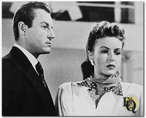 "Derr with Francis Gifford in 1948's ""Luxury Liner."""