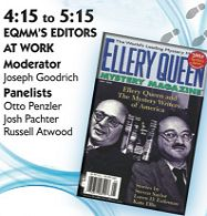 Part 3 of EQMM's 75th-Anniversary Symposium, recorded at Columbia University's Butler Library on September 30, 2016. Panel: EQMM's Editor's at Work, featuring Russell Atwood, Otto Penzler, Josh Pachter, and Joe Goodrich (moderator).