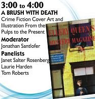 Part 2 of EQMM's 75th-Anniversary Symposium, recorded at Columbia University's Butler Library on September 30, 2016. Panel: A Brush With Death: Crime Fiction Cover Art and Illustration from the Pulps to the Present. Featuring Janet Salter Rosenberg, Laurie Harden, Tom Roberts, and Jonathan Santlofer (moderator).