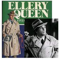 While Link was a Dannay-adept, Levinson had a high Marlowe factor which propably accounts for the Columbo raincoat. Some coverartists succeeded in making Ellery a 'clean' Columbo-clone...