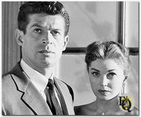 "'Unguarded Moment"" (1956) George opposite Esther Williams in a movie about a schoolteacher who is terrorized by one of her students."