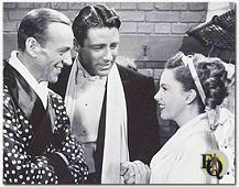 "Fred Astaire, Peter Lawford en Judy Garland in ""Easter Parade"" (1948)"