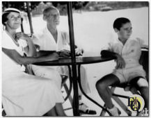 Preferring to travel around the world and indulge in a lavish lifestyle, largely provided by their wealthy friends, as the Lawfords' fortune had vanished after the war began in 1939.