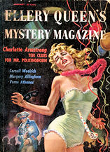 Ellery Queen's Mystery Magazine january 1957