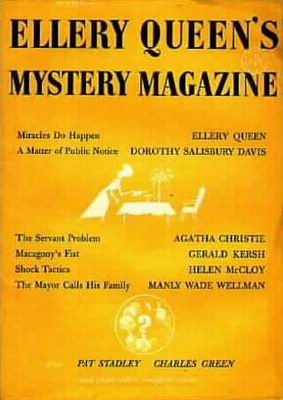 Ellery Queen's Mystery Magazine july 1957 - Subscription copies