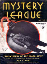 Mystery League - Nr 4 January 1934