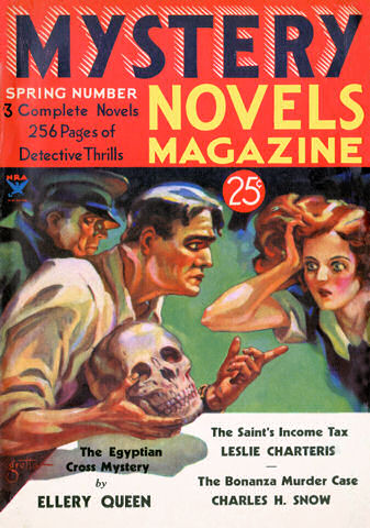 Proof of the commercialized brain of the nephews: a publication of the story in the Spring of 1934 in Mystery Novels Magazine.