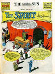 Issue 164 of July 18,1943 the Spirit comic section of the Sun, created by Will Eisner.