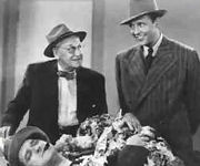 Charley Grapewin and Ralph Bellamy in Ellery Queen and the Murder Ring