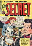 Our Secret #7 (April 1950) featuring a 9 page story intended for unpublished Ellery Queen nr5