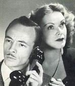 "Publicity shot for Les Tremayne and Claudia Morgan, who played Nick and Nora Charles in ""The Thin Man"" on radio."