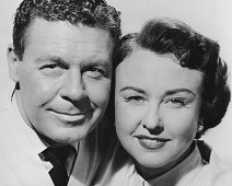 With John Archer for 'Emergency Hospital' (1956) Dr. Janet Carey (Margaret Lindsay) is romanced by wealthy Ben Caldwell (Byron Palmer), who may or may not be a dangerously reckless motorist.