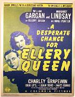 A Desperate Chance for Ellery Queen - filmposter
