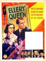 Stock Poster Ellery Queen series: stock posters had a blank space for the title, and credits, and the picture remained the same. The Ellery Queen stories was projected as a series, and the stock poster was used in a lot of theaters.