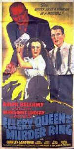 Ellery Queen and the Murder Ring - 3 sheet poster (81x41)