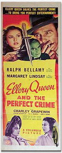 Ellery Queen and the Perfect Crime - Poster
