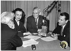 From Left to Right: Ellery Queen, Charlotte Keane, Parks Johnson and Warren Null.
