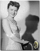 "NBC press photo, Marion Shockley from the ""Ellery Queen"" show which aired April 1st. 1943"