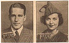 'Rogues' Gallery photos of Hugh Marlowe & Marion Shockley.