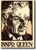 Inspector Queen as depicted by Frank Godwin for a Redbook edition of the Chinese Murder Mystery