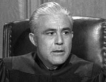 Again the judge! Sydney Smith in Perry Mason's Case of the Fiery Fingers (1958)