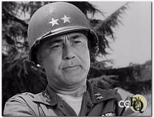 Sydney as the kind General Hess in a Lassie episode from 1959 'Junior GI's""