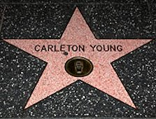 Carleton has his star on the North side of the 6700 block of Hollywood Boulevard