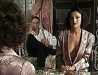 "Ladislav Kolář (Jim Denton) and Monika Maláčová (Angela) in ""Dama a smrt"" (TV, 1992)"