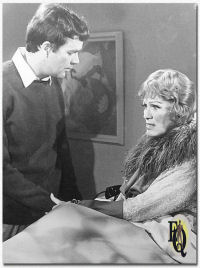 Jim Hutton with Eve Arden (Vera Bethune, Miss Aggie)