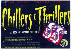 Chillers and Thrillers: A Book of Mystery Sketches. 1945