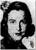 Unknown until a year before our young Hartford actress, was heard as Lee Barker in The O'Neills, a popular daytime serial. (Nov 1940)