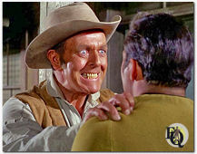 "Bill Zuckert played the sheriff in the ""Star Trek"" episode, ""Spectre of the Gun"" (1968) ."