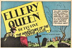 "In de 23ste ""Crackajack"" verscheen Ellery Queen Detective met ""The Adventure of the Coffin Clue""."